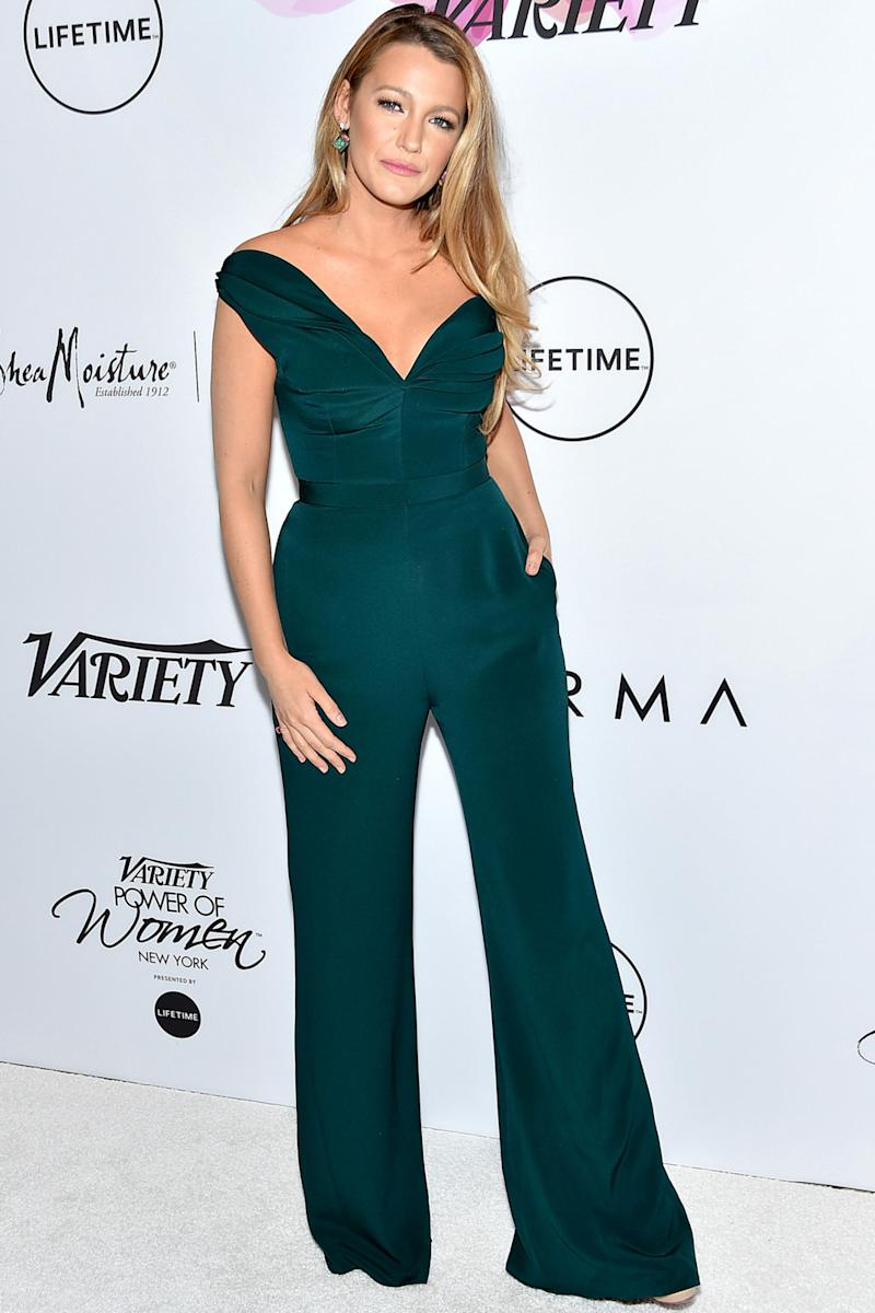 Blake Lively Told Off a Reporter Who Asked Her About Fashion