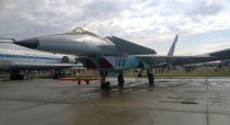 """<p>Struggling to keep up with the rapidly-improving aviation technology of the West, Russia's Mikoyan design bureau slowly developed a <a href=""""https://nationalinterest.org/blog/buzz/why-russias-mig-144-5th-generation-stealth-fighter-was-lost-cause-70081"""" rel=""""nofollow noopener"""" target=""""_blank"""" data-ylk=""""slk:twin-engine delta wing fighter"""" class=""""link rapid-noclick-resp"""">twin-engine delta wing fighter</a> designated Project 1.44. Soon after its first test flight in 2000 revealed a laundry list of deficiencies and engineering problems, the Kremlin mercifully scrapped the program.</p>"""