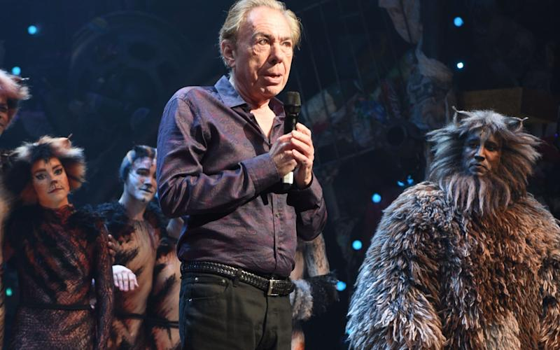 Andrew Lloyd Webber - Copyright (c) 2016 Rex Features. No use without permission.