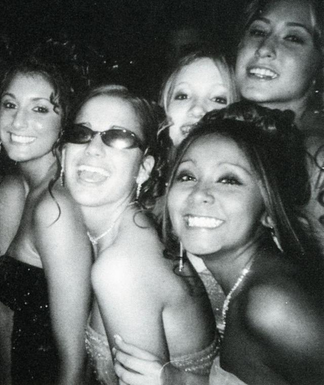 "<p>Recognize this face? Just three years before Nicole ""Snooki"" Polizzi was living it up on the <em>Jersey Shore</em>, she was partying with classmates at the 2006 prom at Marlboro High School in Marlboro, N.Y. It's safe to say this is where she perfected the fist pump. (Photo: Seth Poppel/Yearbook Library) </p>"