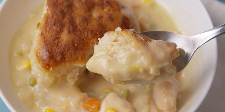 Slow-Cooker Chicken Pot Pie Is The EASIEST Way To Pot Pie