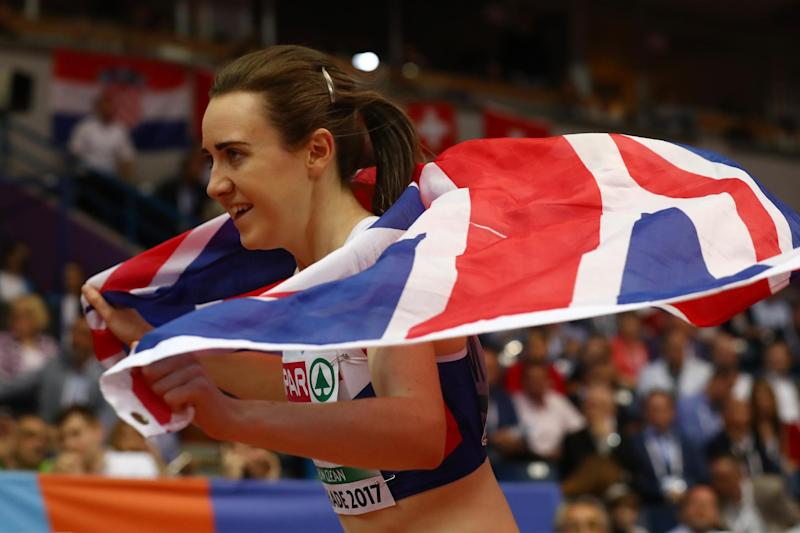 Laura Muir: Getty Images