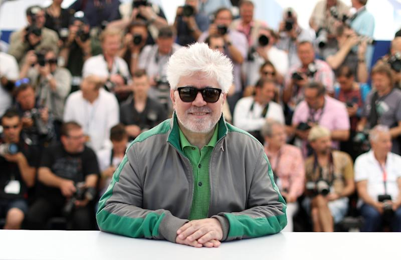 Pedro Almodovar, Spain's most celebrated living movie director, is to lead the jury at this year's Cannes film festival (AFP Photo/Valery HACHE)