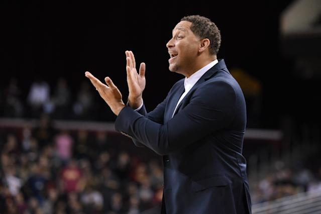 Tony Bland admitted on Wednesday to accepting payment for steering USC players in business dealings. (Getty)