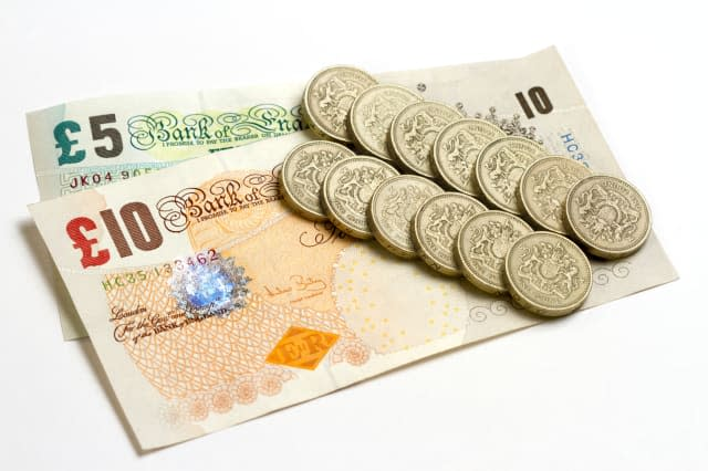 Which currencies did the pound rise against?
