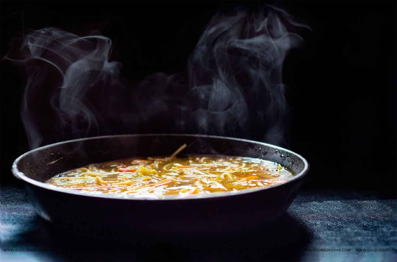"<p>A Nepali style chicken and noodle broth. This deeply spiced one pot <a href=""http://www.gigglingspoons.com/thukpa/"">dish</a> is comforting and easy to make.</p><p><i>[Photo: gigglingspoons]</i><br /></p>"