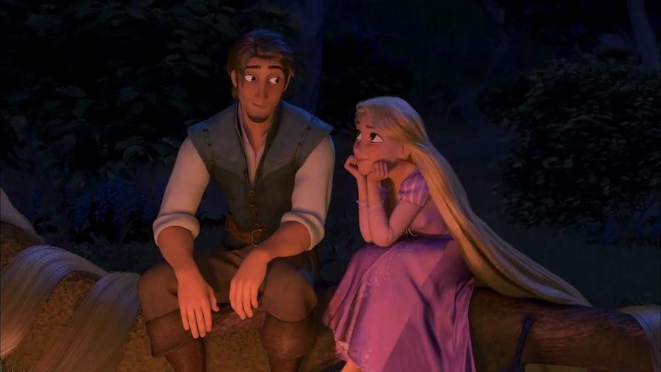 """<p>Dressing up as Rapunzel and Flynn from <em>Tangled</em> is sure to be enchanting. And if you've ever wondered what it's like to have insanely long hair, now's your chance to find out.</p><p><a class=""""link rapid-noclick-resp"""" href=""""https://www.amazon.com/Hotcostyle-Tangled-Rapunzel-Cosplay-Princess/dp/B07HG9D514/ref=asc_df_B07HG9D514/?tag=syn-yahoo-20&linkCode=df0&hvadid=366335881666&hvadid=366335881666&hvnetw=g&hvnetw=g&hvrand=16706154868969621577&hvrand=16706154868969621577&hvdev=c&hvdev=c&hvlocphy=9004368&hvlocphy=9004368&hvtargid=pla-818817611680&hvtargid=pla-818817611680&psc=1&adgrpid=78877182209&ascsubtag=%5Bartid%7C10070.g.28691602%5Bsrc%7Cyahoo-us"""" rel=""""nofollow noopener"""" target=""""_blank"""" data-ylk=""""slk:SHOP RAPUNZEL COSTUME"""">SHOP RAPUNZEL COSTUME</a></p><p><a class=""""link rapid-noclick-resp"""" href=""""https://www.amazon.com/CosFantasy-Flynn-Cosplay-Costume-mp001594/dp/B07VSNXHJ4/ref=asc_df_B07VSNXHJ4/?tag=syn-yahoo-20&linkCode=df0&hvadid=385197933559&hvadid=385197933559&hvnetw=g&hvnetw=g&hvrand=13463715869055638254&hvrand=13463715869055638254&hvdev=c&hvdev=c&hvlocphy=9004368&hvlocphy=9004368&hvtargid=pla-821119956454&hvtargid=pla-821119956454&psc=1&adgrpid=78222956306&ascsubtag=%5Bartid%7C10070.g.28691602%5Bsrc%7Cyahoo-us"""" rel=""""nofollow noopener"""" target=""""_blank"""" data-ylk=""""slk:SHOP FLYNN COSTUME"""">SHOP FLYNN COSTUME</a> </p>"""