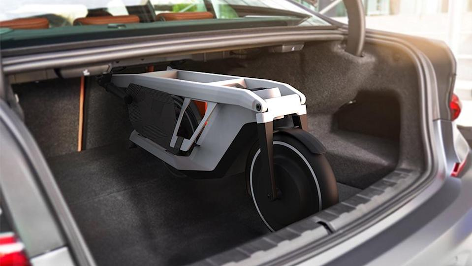 BMW Clever Commute Scooter. - Credit: BMW