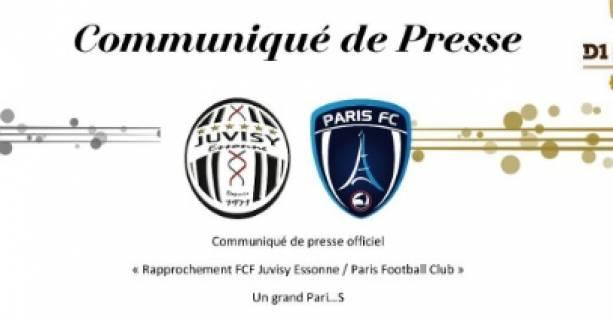 Foot - National - Juvisy et le Paris FC vont fusionner