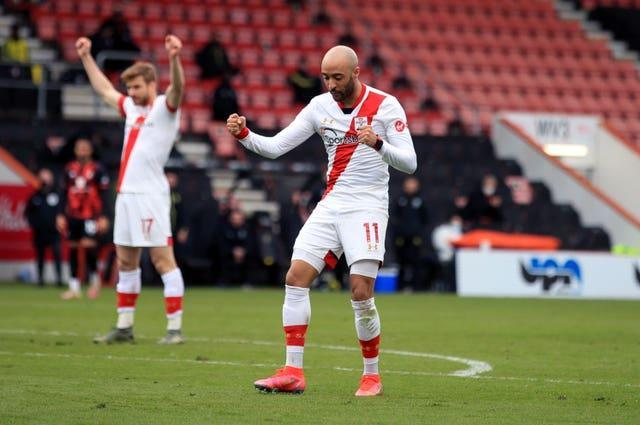 Nathan Redmond inspired Southampton to their FA Cup quarter-final win at Bournemouth