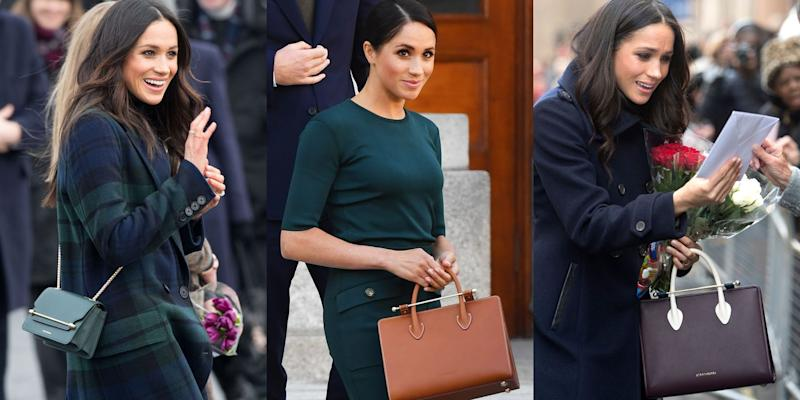 30337488218aae That Meghan Markle Handbag Brand Everyone Loves Is Now Available at ...