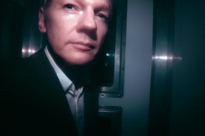 <em>Assange, pictured here in 2010 leaving the City of Westminster Magistrates Court after Swedish prosecutors appealed against a decision to grant him bail (PA)</em>