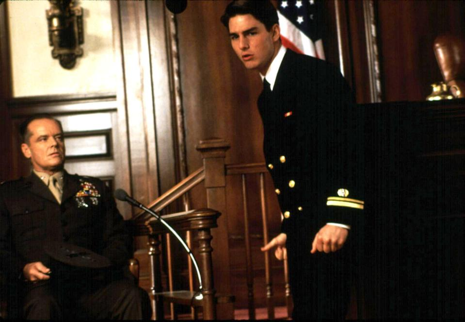 Jack Nicholson and Tom Cruise in <em>A Few Good Men</em> (Photo: Columbia/Courtesy of Everett Collection)