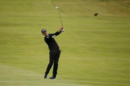 Golf - Aberdeen Asset Management Scottish Open - Gullane Golf Club, East Lothian, Scotland - 10/7/15. Gregory Havret of France in action during the second round Action Images via Reuters / Lee Smith