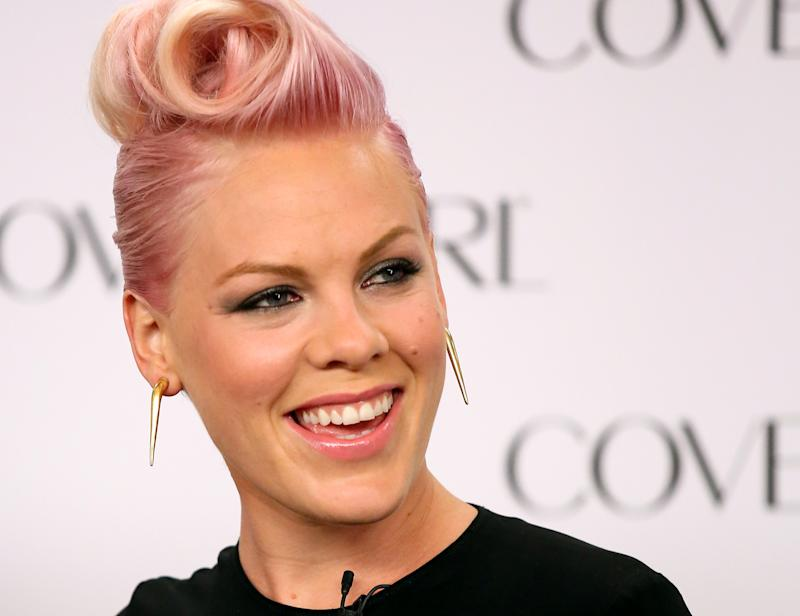 Pink just donated a *huge* amount of money to Harvey relief