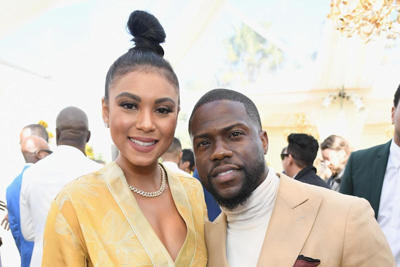 Kevin Hart and wife Eniko Parrish 03--9-2019