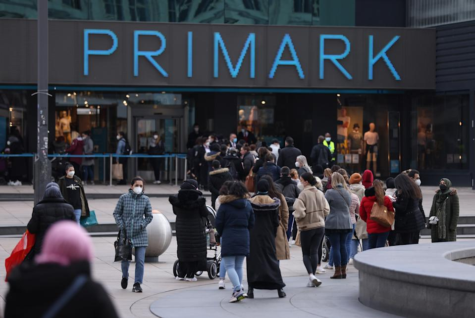 The budget retailer now expects profit for the full year, before the repayment of furlough funds, to be broadly in line with last year's figures. Photo: Sean Gallup/Getty Images