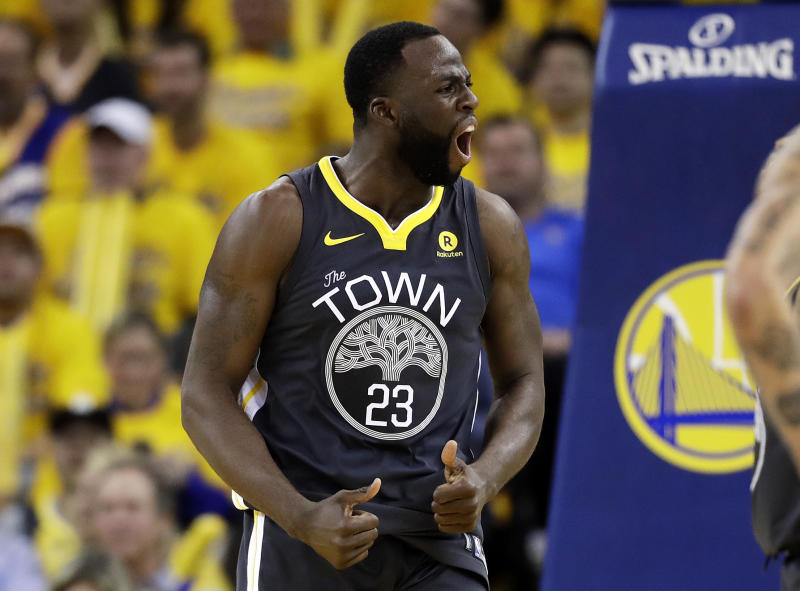 b356664b34bf Draymond Green got suspended by the Warriors for taking things too far in  an argument with Kevin Durant. (AP Photo Marcio Jose Sanchez)