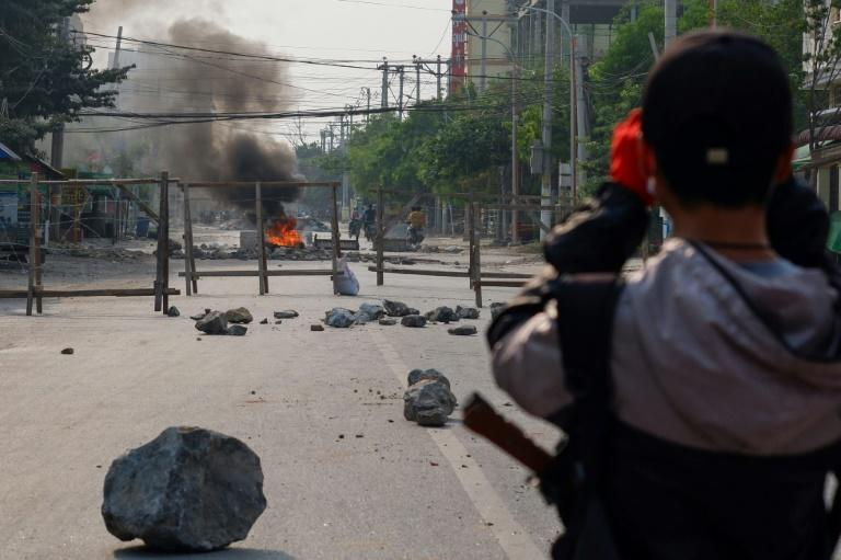 International concern has been growing over the junta's brutal approach as the death toll climbs