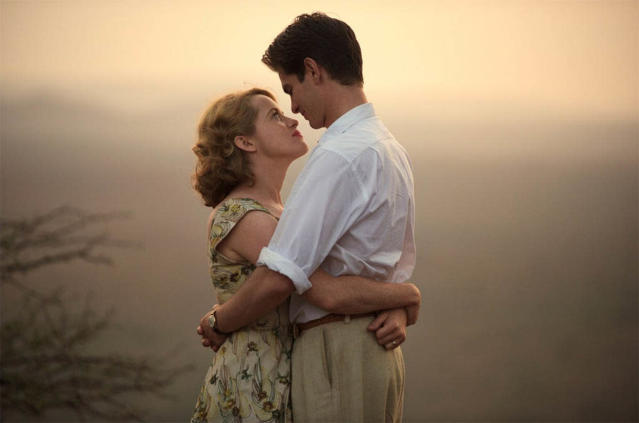 Andrew Garfield and Claire Foy in <em>Breathe.</em> (Photo: Bleecker Street/Participant Media)