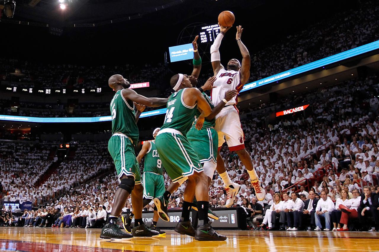 Nba Playoffs Heat Vs Celtics