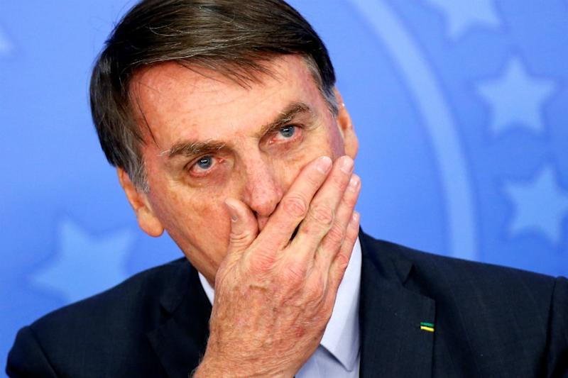 Bolsonaro & His Top Officials Don't Wear Masks to July 4 Celebration in Brazil as Covid-19 Rages On