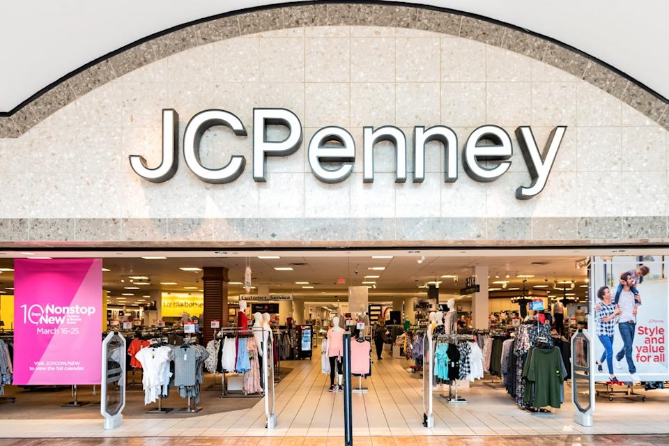 entrance to jcpenney