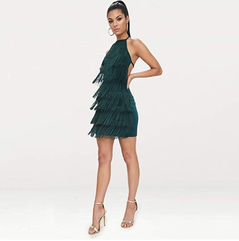 <p>Everyone will want to know where this retro and glam <span>L'VOW Tassels Strap Dress</span> ($30-$32) is from.</p>