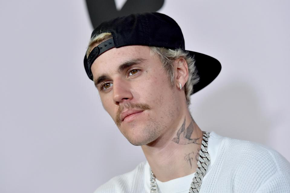 "LOS ANGELES, CALIFORNIA - JANUARY 27: Justin Bieber attends the Premiere of YouTube Original's ""Justin Bieber: Seasons"" at Regency Bruin Theatre on January 27, 2020 in Los Angeles, California. (Photo by Axelle/Bauer-Griffin/FilmMagic)"