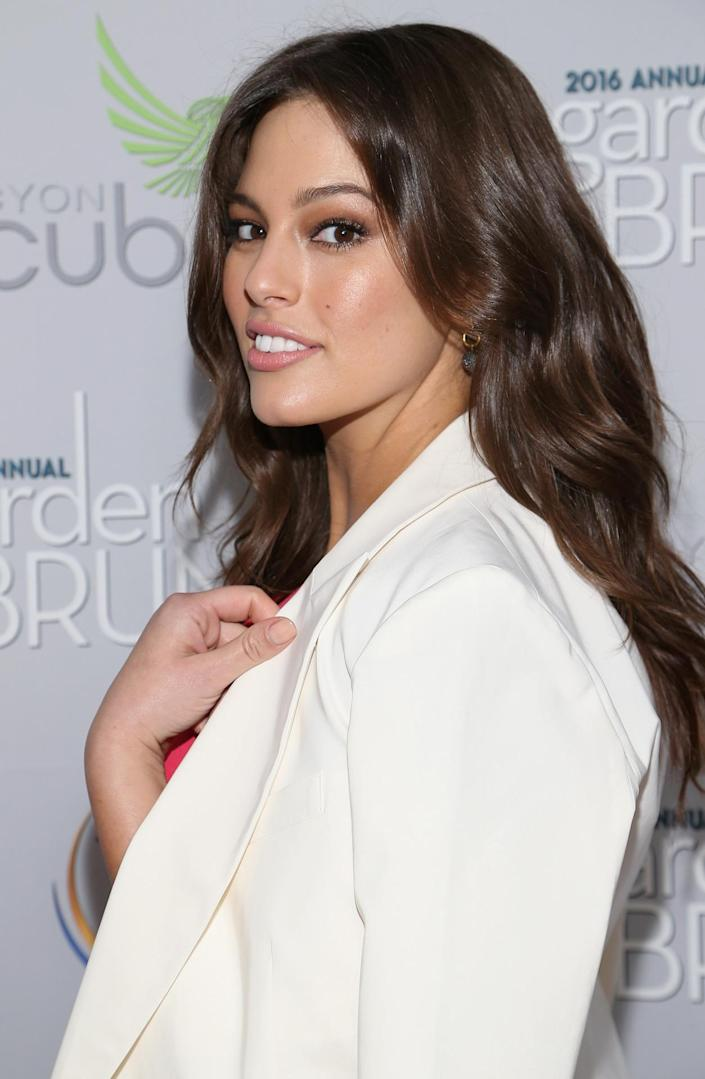 <p>Model Ashley Graham attends the Garden Brunch prior to the 102nd White House Correspondents' Dinner, April 30. <i>(Photo: Paul Morigi/WireImage)</i></p>