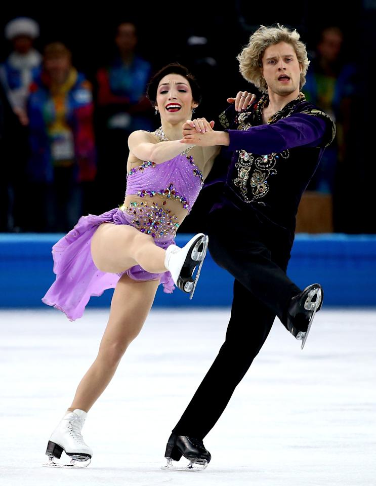 us ice dancing team dating Olympic skating couple a team through stronger than most throughout their years as ice dancing the ice they started dating shortly after and.