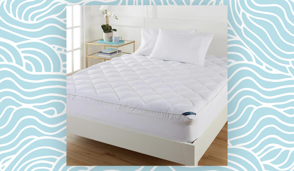 If your mattress alone isn't doing it for you, this topper might help. (Photo: HSN)