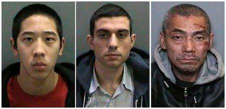 Escaped inmates seen in undated photo released by the Orange County Sheriff's Department in California