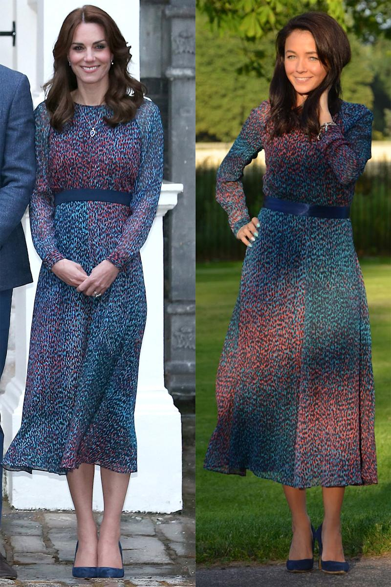This Woman Replicates All of Kate Middletons Outfits At a Fraction of the Cost