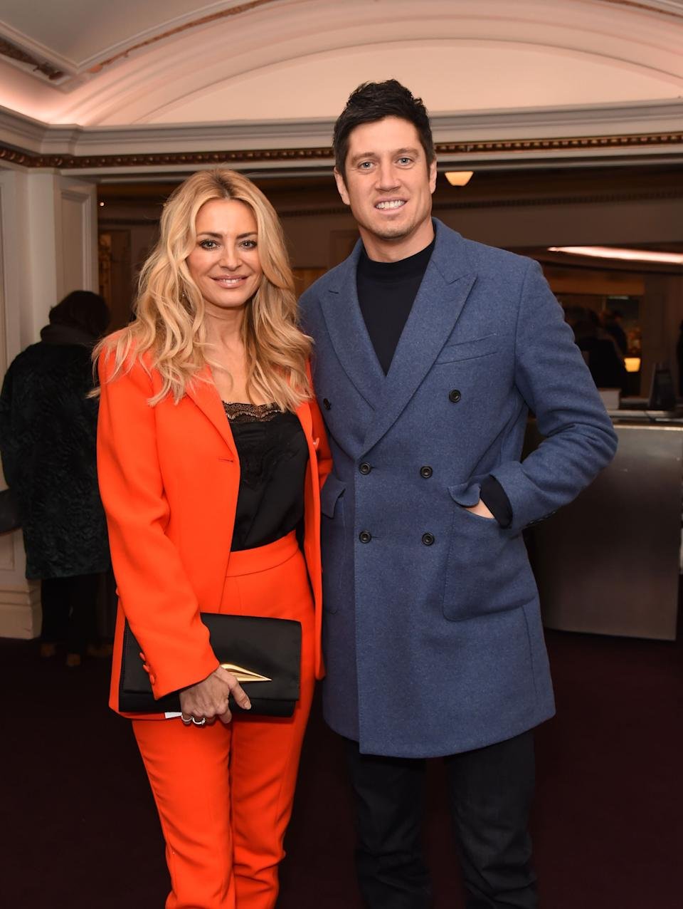 The couple are keen to do more TV work together (Photo: David M. Benett via Getty Images)