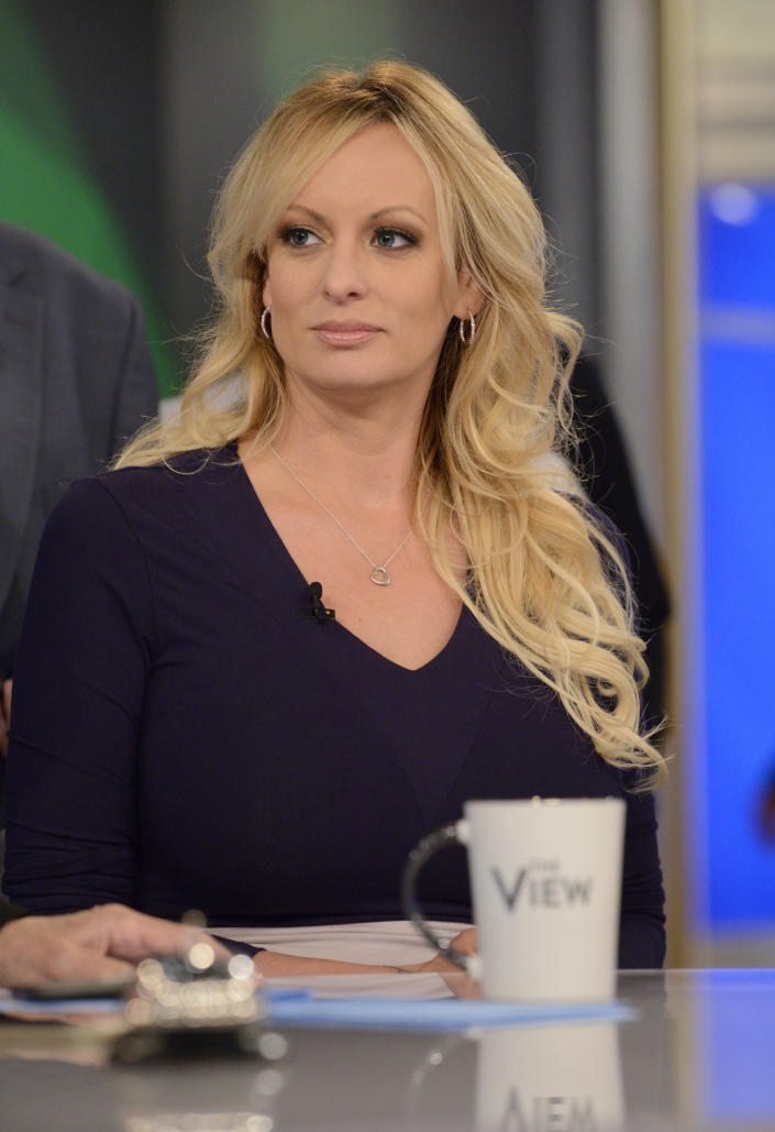 Stormy Daniels is sparing no detail about her alleged affair with Donald Trump. (Photo: Lorenzo Bevilaqua/ABC via Getty Images)