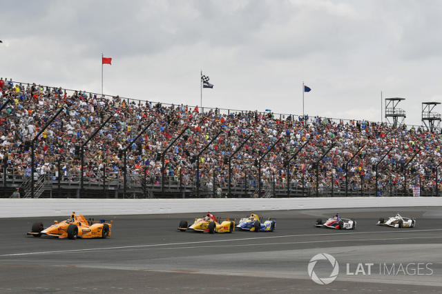 "Fernando Alonso, Andretti Autosport Honda <span class=""copyright"">Scott R LePage / LAT Images</span>"