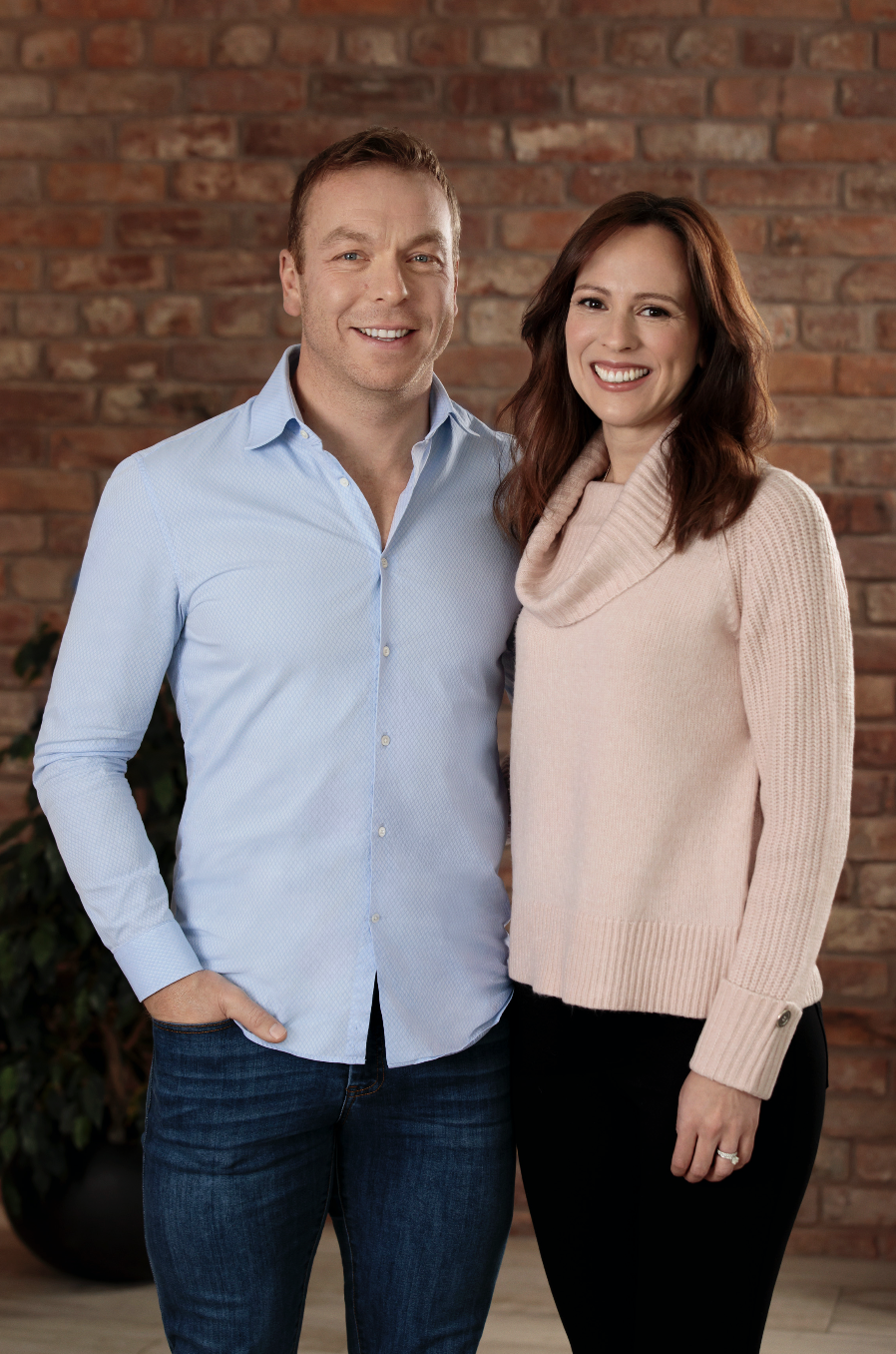 Chris and Sarra are backing the Pampers for Preemies campaign. [Photo: Pampers]