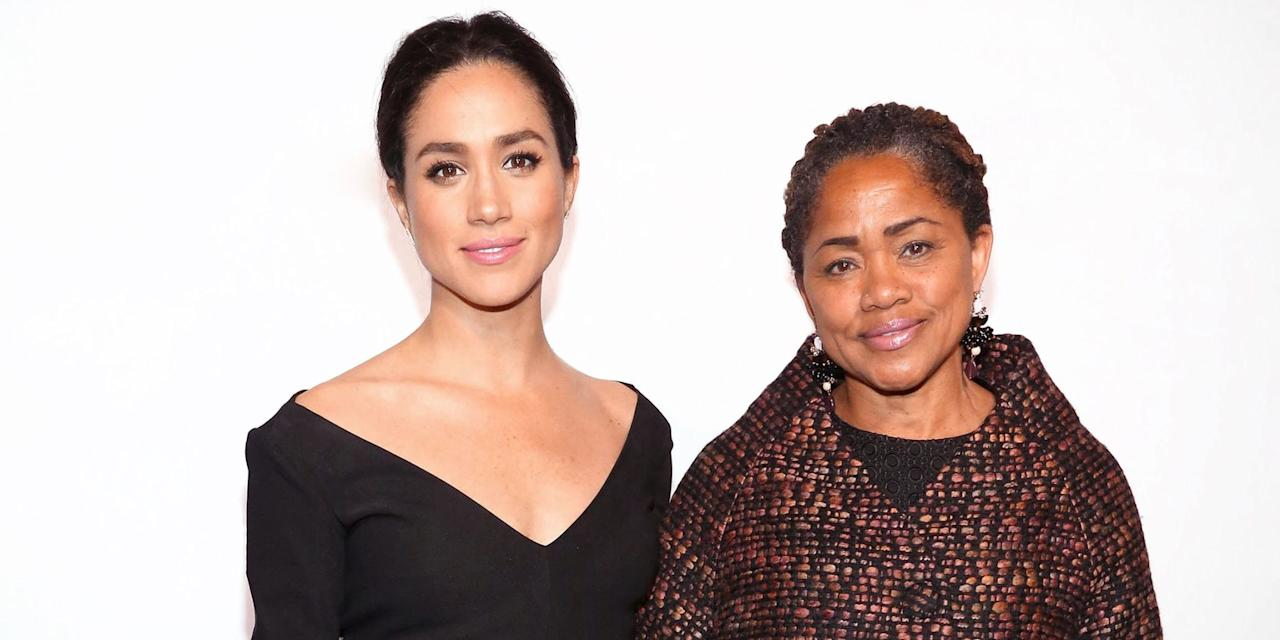 Meghan Markle's Mother Will Walk Her Down The Aisle