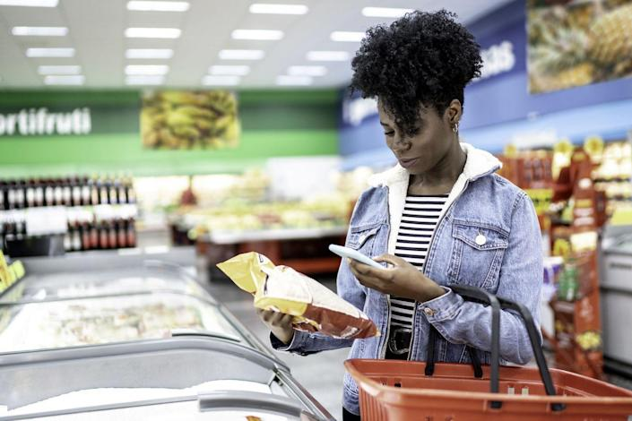 """<p>Before heading to the store, <a href=""""https://www.thepennyhoarder.com/save-money/how-to-start-meal-planning/"""" rel=""""nofollow noopener"""" target=""""_blank"""" data-ylk=""""slk:plan out your meals for the week"""" class=""""link rapid-noclick-resp"""">plan out your meals for the week</a> and make a list of everything you'll need. This can help you cut down on impulse purchases, and reduce potential food waste. </p>"""