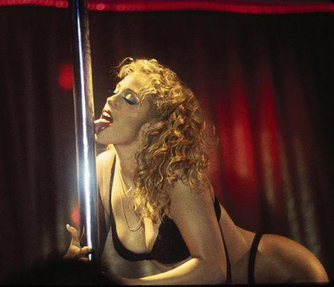 <i>Showgirls</i>' disappointing performance at the box office was blamed on its NC-17 rating. Photo: MGM