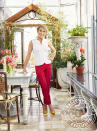 """<p><a href=""""https://people.com/home/shark-tank-barbara-corcoran-on-starting-her-real-estate-business-the-corcoran-group/"""" rel=""""nofollow noopener"""" target=""""_blank"""" data-ylk=""""slk:The Shark Tank investor"""" class=""""link rapid-noclick-resp"""">The <em>Shark Tank</em> investor</a> is known in her industry as the queen of New York real estate, and her castle, a four-bedroom, seven-bath penthouse on the Upper East Side of Manhattan, is appropriately lavish.</p> <p>The two-story apartment has stunning views overlooking Central Park, and the savvy investor spent two years renovating the place, flipping the upstairs and downstairs floor plans and transforming a historic greenhouse into her light-filled kitchen.</p> <p>""""Even on rainy, dire, dismal days, this place is sunny,"""" Corcoran told PEOPLE in 2018. """"It's like living on top of the world.""""</p> <p><a href=""""https://people.com/home/barbara-corcoran-new-york-city-home-tour/"""" rel=""""nofollow noopener"""" target=""""_blank"""" data-ylk=""""slk:See more photos of Barbara Corcoran's home."""" class=""""link rapid-noclick-resp"""">See more photos of Barbara Corcoran's home. </a></p>"""