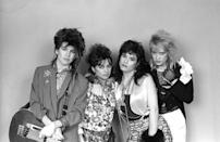 """<p>This pop rock band were inspirational as this all-girl group played their own instruments. Pretty rare for the early 80s. Susanna Hoffs played guitar, Debbi Peterson was on drums, Vicki Peterson was on guitar and Michael Steele on bass and all of the singing duties were shared among the members. Originally called the Bangs, they changed their name due to a copyright issue. They had big hits with """"Manic Monday"""" and """"Walk Like an Egyptian"""" and their cover of Simon & Garfunkel's """"A Hazy Shade of Winter"""" appeared in the film """"Less Than Zero."""" </p>"""