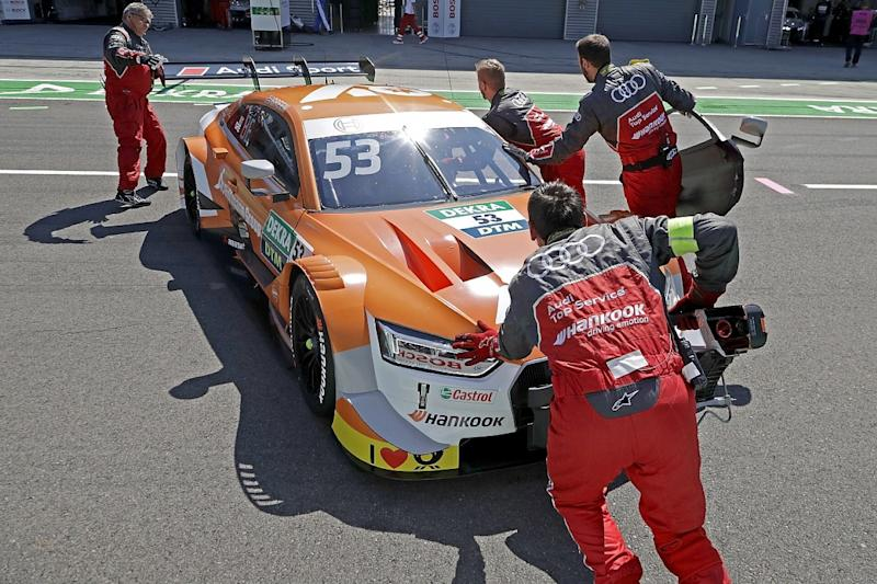 Internal restructuring poses Audi DTM questions