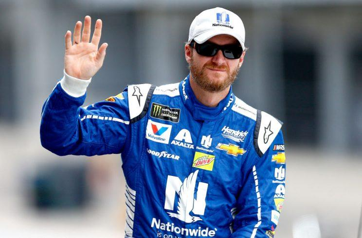 Dale Earnhardt Jr. will move to the broadcast booth next season. (Getty)