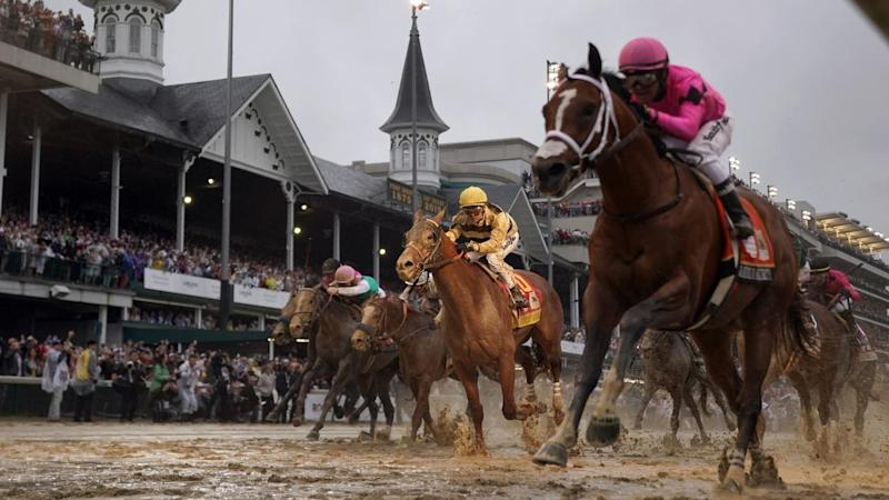 Virus Outbreak Kentucky Derby Postponed