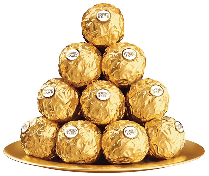 """<span style=""""font-weight:400;"""">A box of<a href=""""https://www.amazon.com/gp/product/B0042TVKZY"""">Ferrero Rocher®</a>fine hazelnut chocolates is the perfect way to tip your hat to your hostess. And if she shares with her guests, it's a gift for everyone.</span>"""