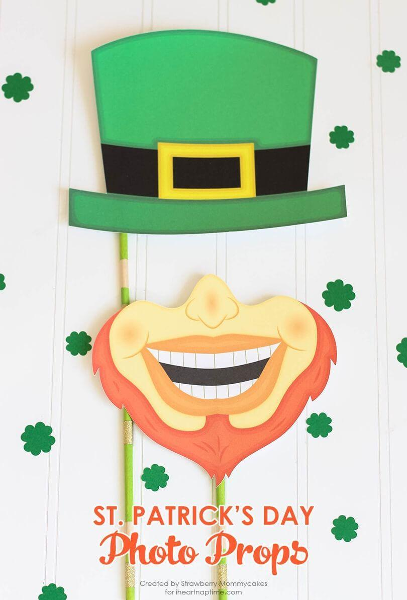 """<p>Set up a photo booth at your St. Patrick's Day party for silly Instagram snaps.</p><p><strong>Get the tutorial at <a href=""""https://www.iheartnaptime.net/silly-st-patricks-day-photo-props/"""" rel=""""nofollow noopener"""" target=""""_blank"""" data-ylk=""""slk:I Heart Naptime"""" class=""""link rapid-noclick-resp"""">I Heart Naptime</a>.</strong></p><p><strong><a class=""""link rapid-noclick-resp"""" href=""""https://www.amazon.com/Cobiz-Premium-Sticks-Christmas-Decoration/dp/B0721PTD5B/?tag=syn-yahoo-20&ascsubtag=%5Bartid%7C10050.g.26234489%5Bsrc%7Cyahoo-us"""" rel=""""nofollow noopener"""" target=""""_blank"""" data-ylk=""""slk:SHOP HOT GLUE GUNS"""">SHOP HOT GLUE GUNS</a><br></strong></p>"""