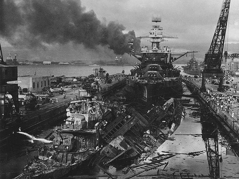 These 13 U.S. Navy Ships Rose from the Dead After Pearl Harbor