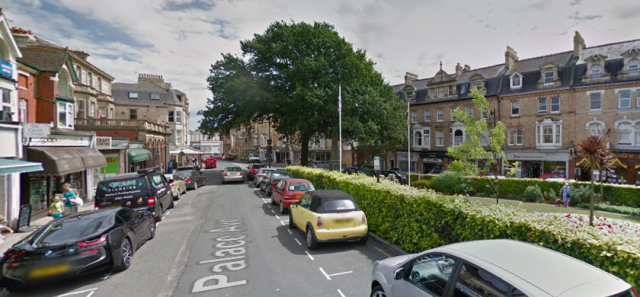 The Devon town's residents said it's usually free to park in New Street and Palace Avenue, next to the church and war memorial, on Sundays. (Google Maps)